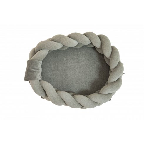Braided baby nest mini gray