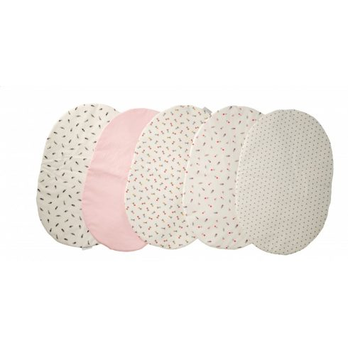 Mini bedding for braided baby nest