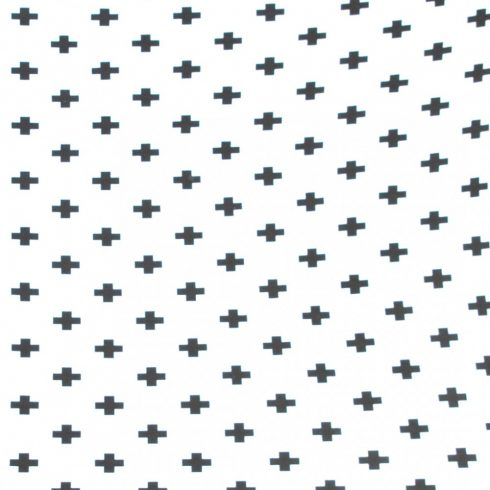 Baby crib sheets rubber cotton in several sizes with black triangles on a white background