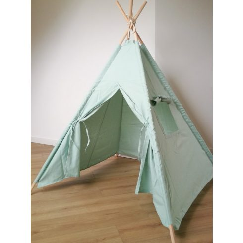 Kids teepee tent mint montessori kids room