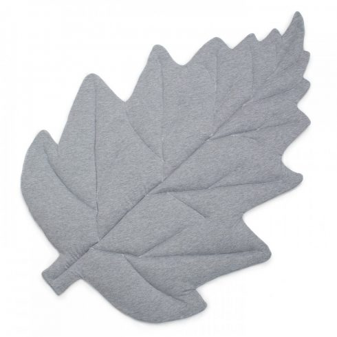 Play mat maple leaf gray
