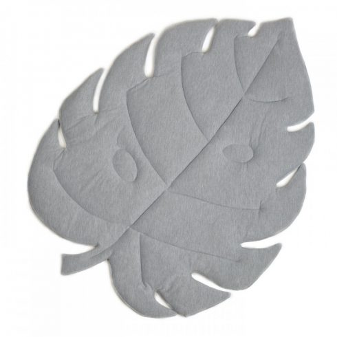 Play mat palm leaf gray