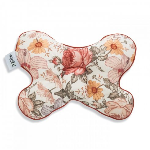 Butterfly pillow with marble pattern